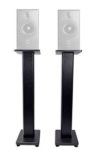 """(2) Rockville 28"""" Studio Monitor Speaker Stands For ATC SCM20ASL Pro mk2"""
