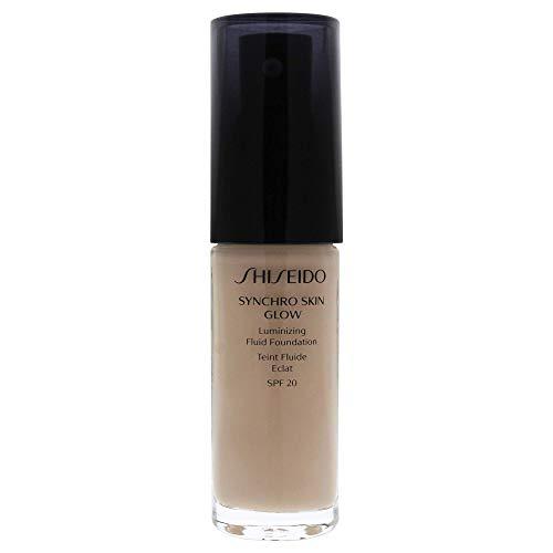 Shiseido Synchro Skin Glow Luminizing Fluid Foundation, Neutral 1, 30 g