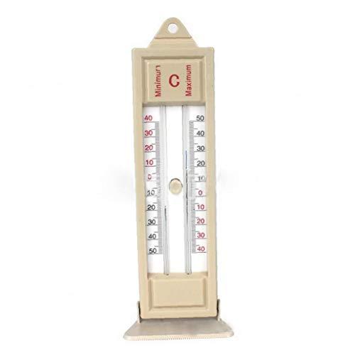 Heall Max-Min-Thermometer Gewächshaus Einpflanzen Thermometer Indoor Outdoor Garten Gewächshäuser Wandtemperaturmonitor