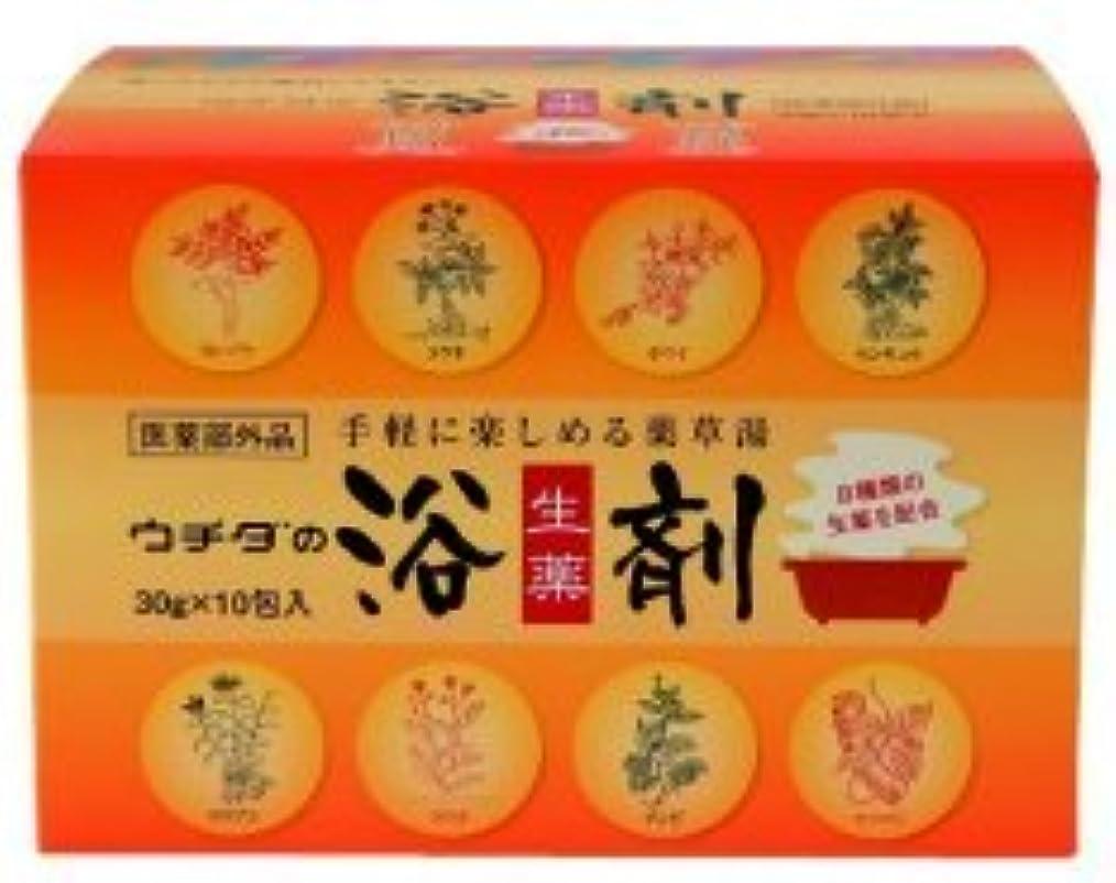 近代化する血色の良い欠乏★6包おまけ付き?ウチダの浴剤30g×10包入×12個