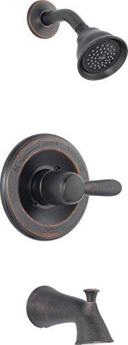Delta Faucet T14438-RBSOS Lahara Monitor 14 Series Tub/Shower Trim, Venetian Bronze