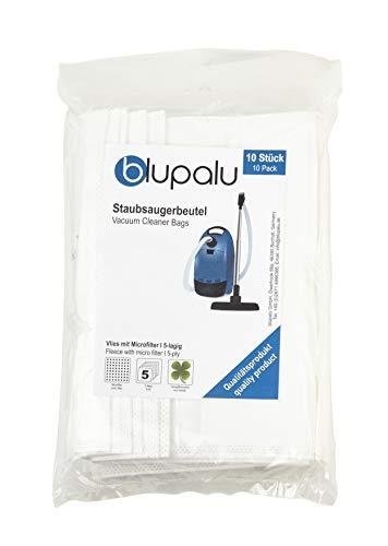 blupalu I Staubsaugerbeutel für Staubsauger Aldi Eio 110 Microfiltplus I 10 Stück I mit Feinstaubfilter