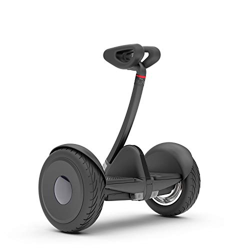Segway Ninebot S Smart Self-Balancing Electric Scooter with LED Light, Portable and Powerful, Black