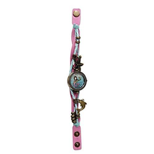 CYP BRANDS Reloj de Pulsera Vintage de Gorjuss 'So Nice To Sea You' (W-21-G) 1