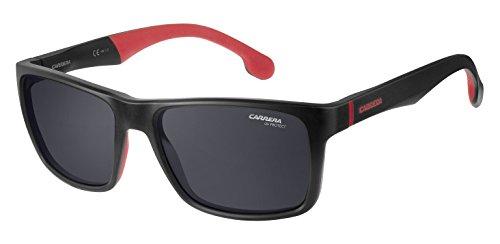 Carrera 8024/LS IR Gafas de sol, Matt Black, 57 Unisex-Adulto