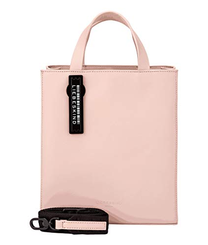 Liebeskind Berlin Damen Paper Bag Tote, Dusty Rose, 20.5x25x11.5 cm