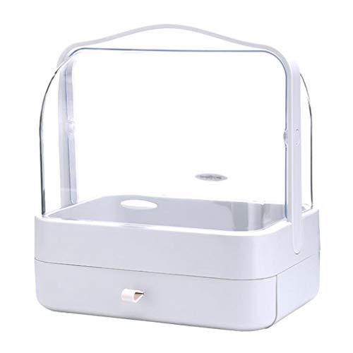 LYN Organisateur de Maquillage, Boîte à Bijoux cosmétique démontable portative, Stockage cosmétique de boîte de Stockage avec Le tiroir pour la Maison