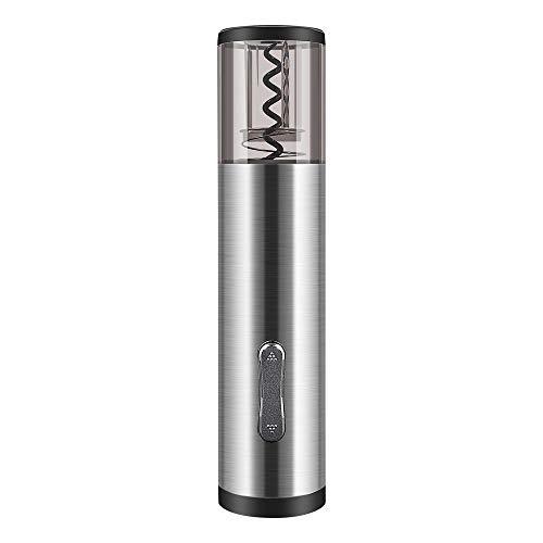 Jevogh Electric Bottle Opener Set, GR26 Rechargeable Stainless Steel...