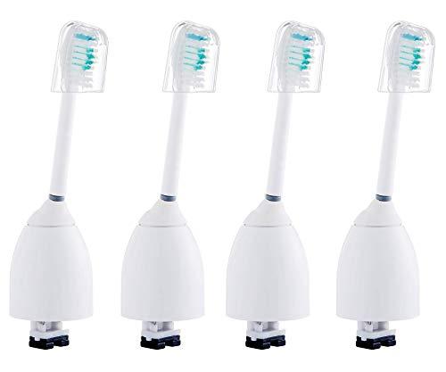 4Pc Ersatz-Zahnbürstenköpfe für Philips Sonicare Hygiene-Reisekappe E-Serie HX7001 HX7023, passend für Elite, Essence, Advance, CleanCare, Xtreme, eSeries