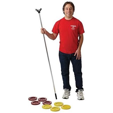 FLAGHOUSE - Shuffleboard - Aluminum Set - Sporting Equipment - Cues & Discs - Accessories