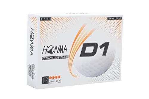 本間ゴルフ D1ボール オレンジ