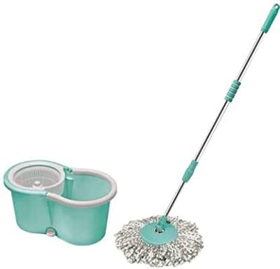 Majron by Tigor Mini Spin Mop, Aqua Green