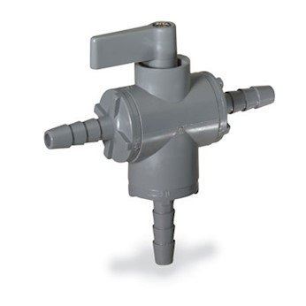 Oakland Mall Cole-Parmer AO-01379-01 Ball Valve 3-Way 1 w Large special price Bun Barb 4