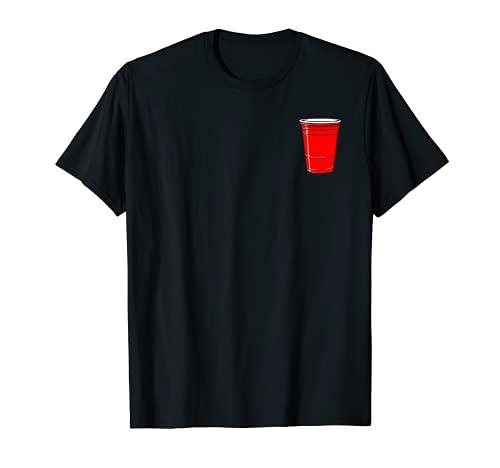 Red Solo Drink Cup Funny Graphic T-Shirt