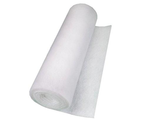 Filterrolle Weiß,Filterklasse G2, 7 - 10mm Stärke, Abmessung 1 x 2m, Filtermatte, Filterflies, Mattenfilter