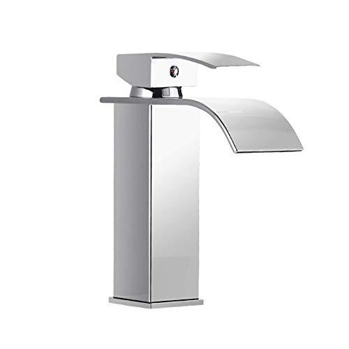 Grifo monomando para lavabo (tamaño: tipo A; color: como se muestra)