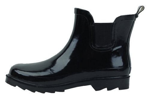 Sunville Womens Short Ankle Rubber Rain Boots