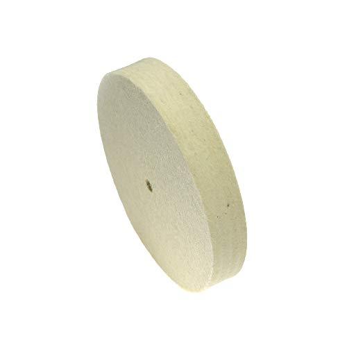 LiQinKeJi8 Muela 125-300mm * Lana de 25 mm Fieltro Pulido Pulido Rueda de Pulido Jade Metal Espejo Superficie Terminación de la Superficie Herramienta de Amoladora para pulir (Size : 8 Inch 200mm)