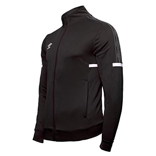 Umbro Herren Track Jacket Trainingsjacke, Schwarz (Black/White 090), Large