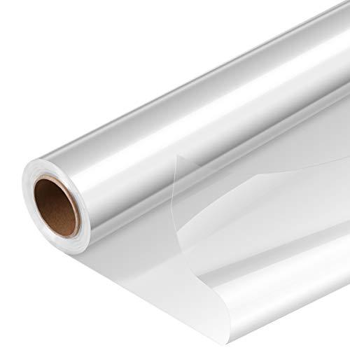 Toddmomy 1 rollo de papel celofán transparente grueso Celofán