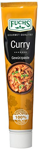 Fuchs Gewürze Curry Gewürzpaste,  65 g