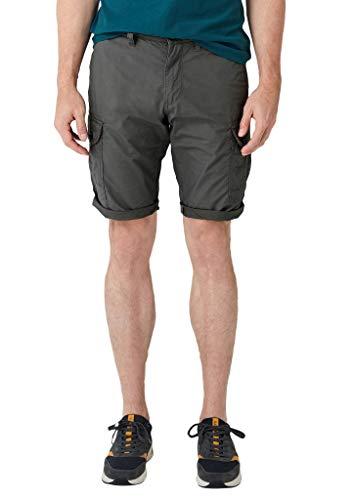 s.Oliver Herren 13.907.74.3665 Shorts, Grau (Smoke Grey 9490), W(Herstellergröße: 29)