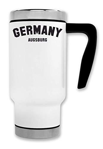 ShutUp Augsburg Thermische Reise-Kaffee-Tee-Tasse