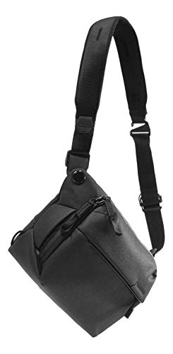 Peak Design Everyday Sling 3L Black Sling, Shoulder, or Waist Carry (BEDS-3-BK-2)