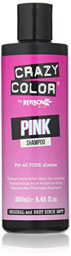Crazy Color Champú Pink 250 ml (CRC040)