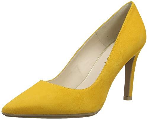 lodi Rachel-TP, Zapato Salón para Mujer, Ante SAFRON, 41 EU
