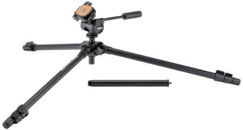 Velbon Sherpa 4370D - Trípode (60.3 cm, 1.57 kg, Aluminio, Negro)