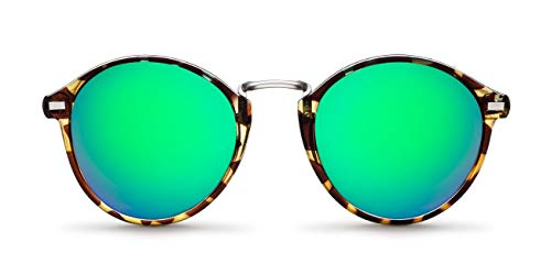 Meller Nyasa Leaf Emerald - UV400 Polarisiert Unisex Sonnenbrillen
