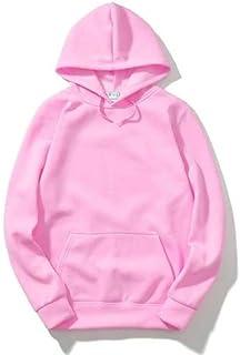 The SV Style Unisex Plain Pink Hoodie/Graphic Printed Hoodie/Hoodie for Men & Women/Warm Hoodie/Unisex Hoodie