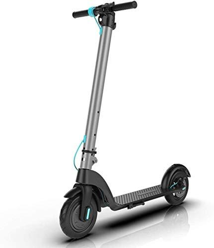 LL-SUNGIRL Scooter eléctrico, niño, Asistencia de pie, Tipo de detección de Gravedad, Ruedas de 10 Pulgadas para Transporte, Juego
