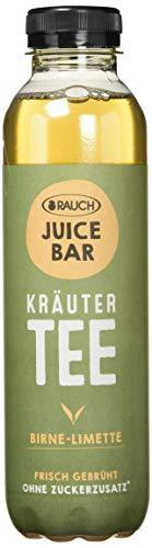 RAUCH Juice Bar Tee Kräutertee Birne-Limette (12 x 500 ml)