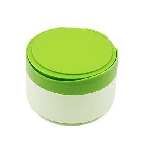 1 Caja de Polvo para bebés después del baño vacía rellenable de plástico para Cuidado de la Piel del bebé contenedor de Polvo portátil de Talco en Polvo con Soplo de Polvo y tamiz para hogar y Viajes