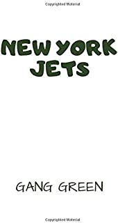 New York Jets - Gang Green: Football Notebook, Journal, Diary (110 Pages, Lined Paper, 8.5 x 11 size, Soft Glossy Cover), Large Composition Book.