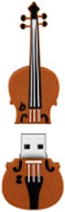 ZHOUSITONGEU 32GB USB 20 Medium Violin U Disk