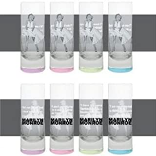 Marilyn Monroe Tall Shooter Set of 4 - White Dress Blowing Style by 3E Trading