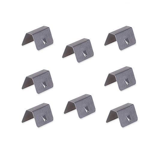 ljym88 Lot de 8 clips de fixation pour déflecteur d'air en métal durable pour voiture pratique stable professionnel facile à installer pour Heko G3 Sned