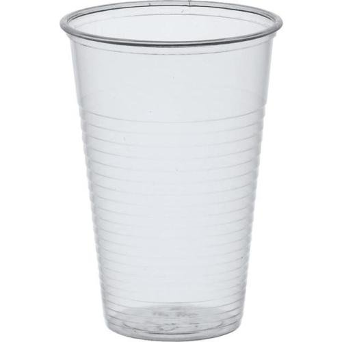 2000 Trinkbecher PP Ausschankbecher Plastikbecher transparent 0,2Liter 200ml Becher