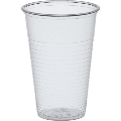 Ol-Gastro-Bedarf 200 Trinkbecher PP Ausschankbecher Plastikbecher transparent 0,2 Liter 200ml Becher