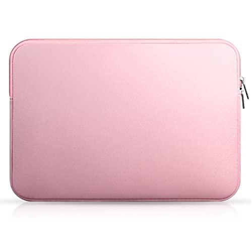 SOLUSTRE Funda para Portátil Funda para Ordenador Portátil de 13 Pulgadas Bolsa Resistente Y Duradera para Ordenador Portátil Tablet Rosa