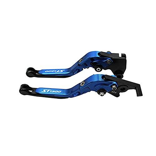 Palancas De Embrague De Freno Extensibles Plegables CNC para Motocicleta para Honda ST1300 / ST1300A 2003 2004 2005 2006 2007 (Color : 2)