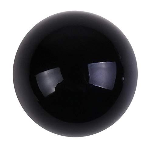 Bola de cristal de obsidiana afortunada,Bloomma 100 natural y genuino, fengshui, meditación, curación con cristales, esfera de adivinación, regalo de decoración de oficina en casa
