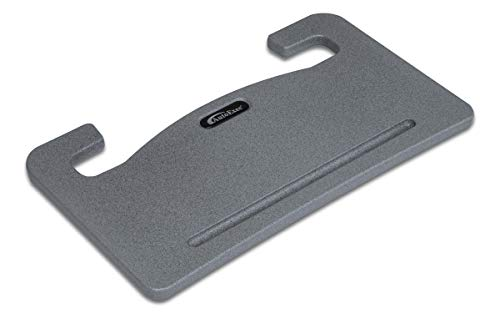 AutoExec Grey Wheelmate Car Desk Steering Wheel Tray-for Laptop, Writing and Eating on The Go