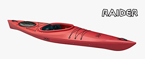 Jolly Roger Raider Solo kayak rosso