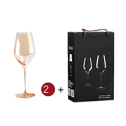 1,5L Carafe à Décanter le Vin en Cristal Carafe à Vin Rouge avec 2 Verres à Vin Rouge (530Ml) - 100% Verre Sans Plomb Soufflé à La Main, Bouteille de Whisky, Cadeaux de Vin, Accessoires de Vin