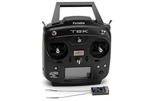 Futaba T6K V2 - 8 Channel 2.4GHz T-FHSS (Dry) & R3006SB Combo (P-CB6K/EU)