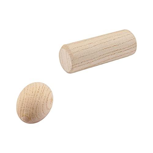 MILISTEN 2 Piezas de Batidor de Huevo de Madera Y Palillo de Ritmo Musical de Percusión Juego de Instrumentos de Educación Temprana Juguete para Fiestas Ruido